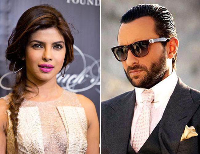 Priyanka and Saif in Prabhudheva's next