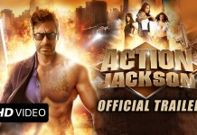Action Jackson Trailer Poster