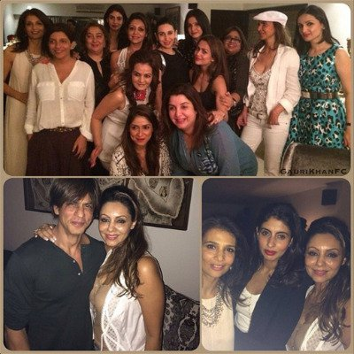Photos: Gauri Khan celebrates 44th Birthday, Stars attend her bash