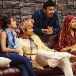 Bigg Boss 8 Day 17 : Upen Patel and Sonali Raut dressed in wedding dresses