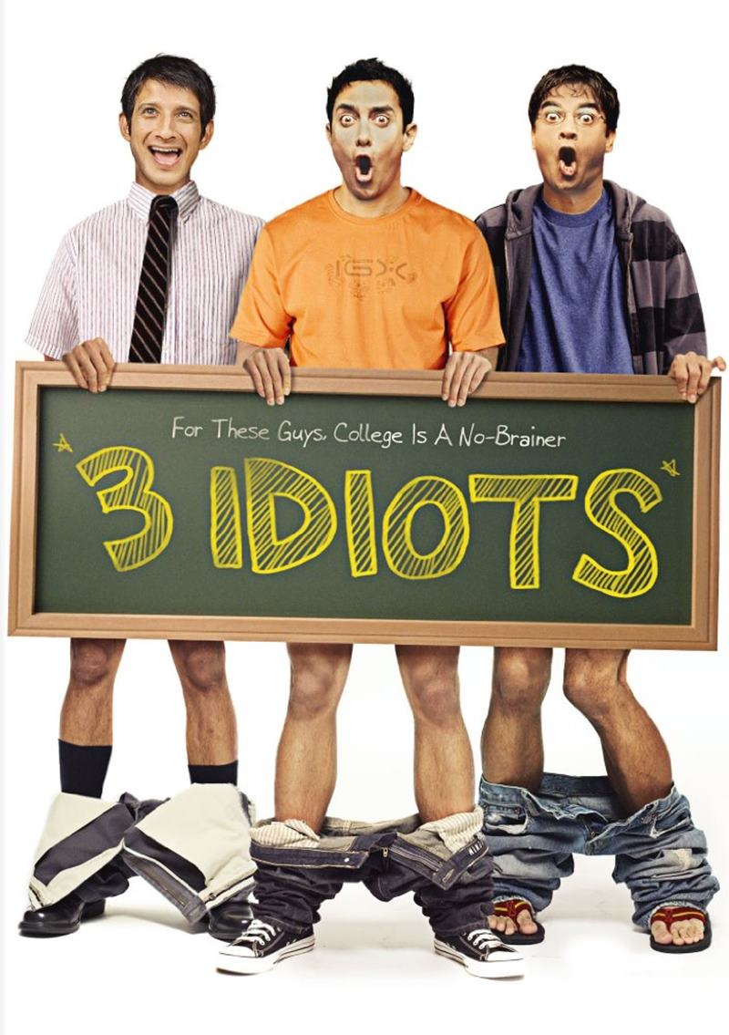 Top 10 Feel-Good Bollywood movies of all time- 3 Idiots