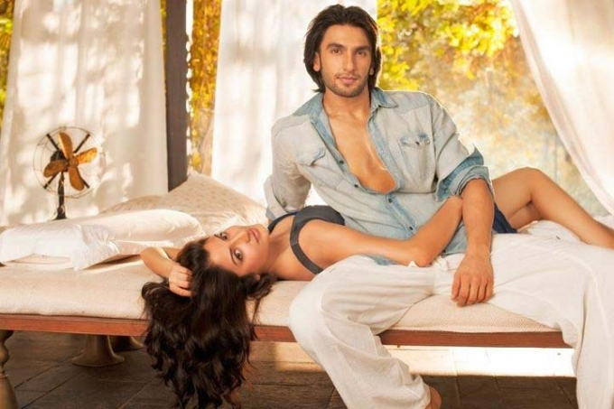 Anushka Sharma and Ranveer Singh together