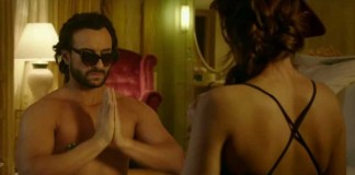Saif and Ileana in Happy Ending