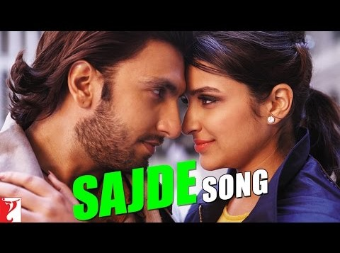 Sajde song from Kill Dil feat. Ranveer and Parineeti