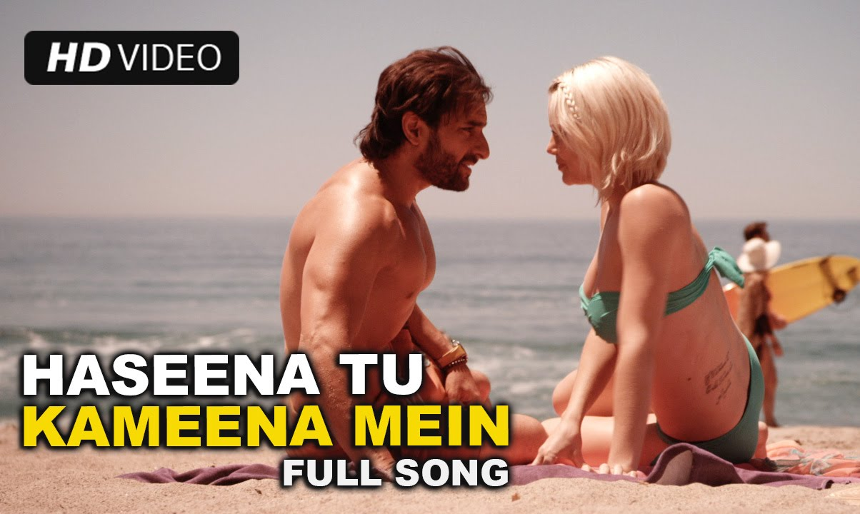 Haseena Tu Kamina Main Song, Lyrics | Happy Ending | Official Video Songs
