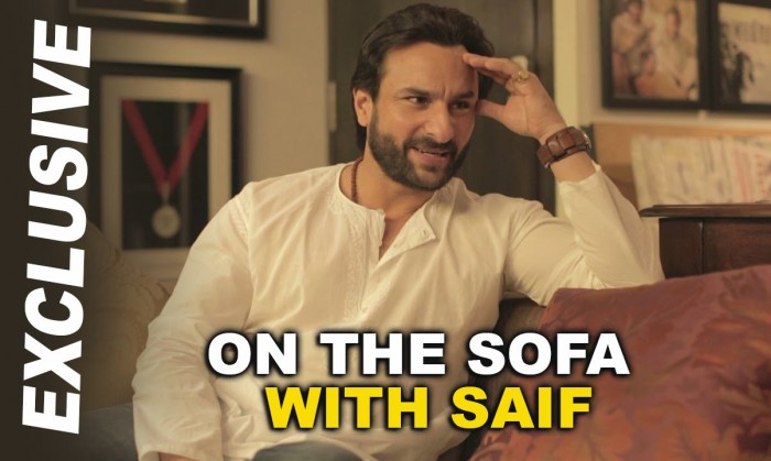 Saif interviewing Saif : An absolute fun video