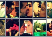 Top 10 onscreen kissing scenes of 2014