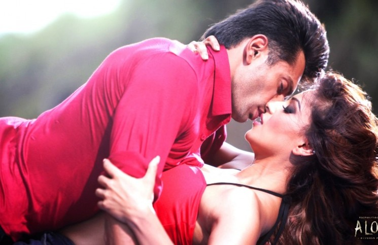 Alone movie Poster feat. Bipasha and Karan Singh Grover
