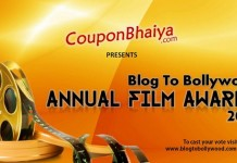 Blog to Bollywood Annual Film Awards 2015