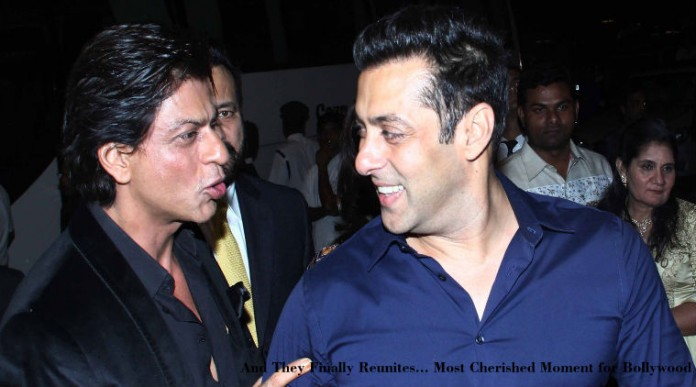 SRK and Salman at Arpita's Wedding