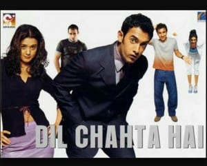 Top 10 Movies of Aamir Khan : Dil Chahta Hai