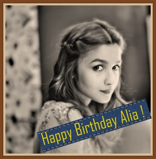 In Pictures : Alia Bhatt – Birthday Special – March Fresh Snaps