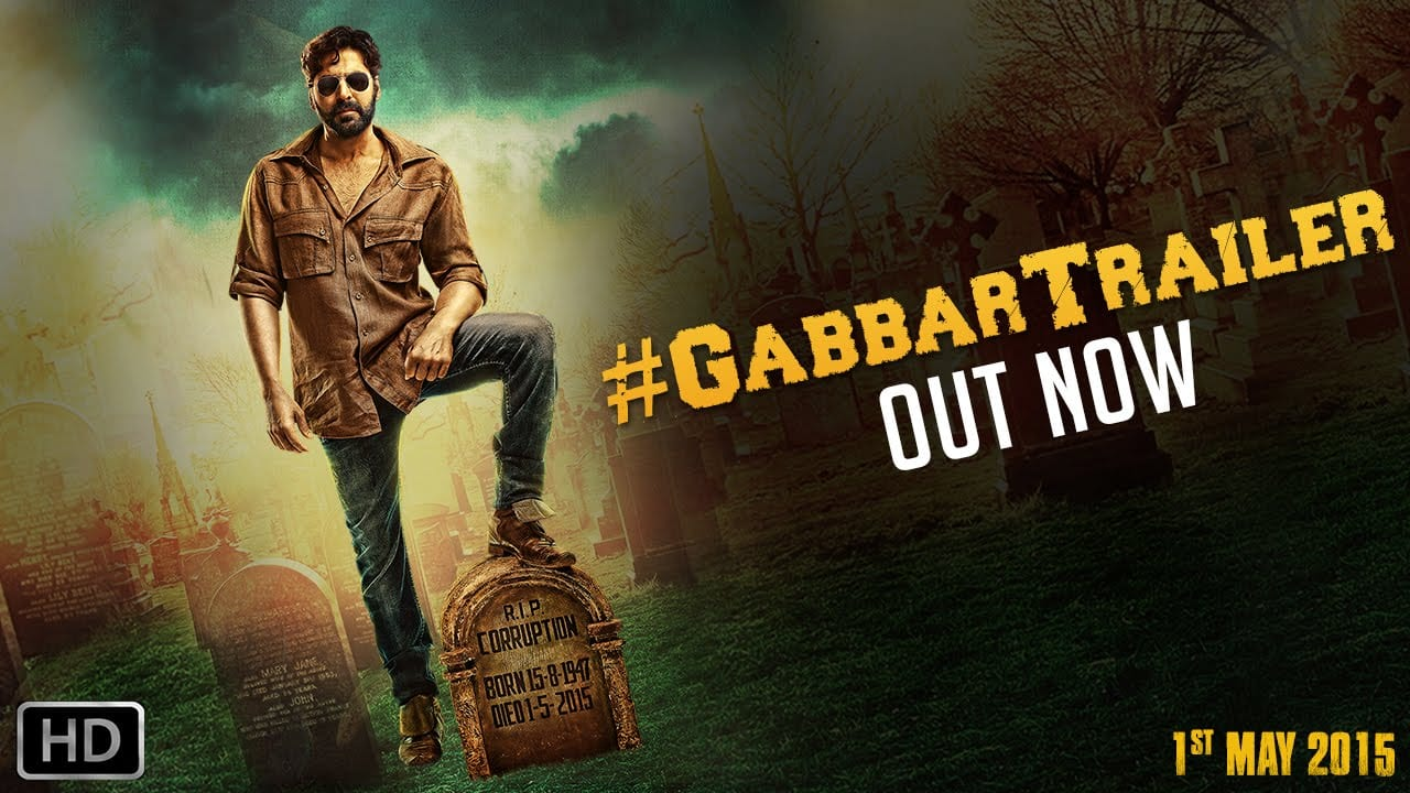 Gabbar Is Back Trailer : Akshay Kumar Is Deadly Dangerous