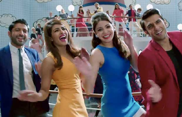 Starcast of the in Dil Dhadakne Do Title Song Video