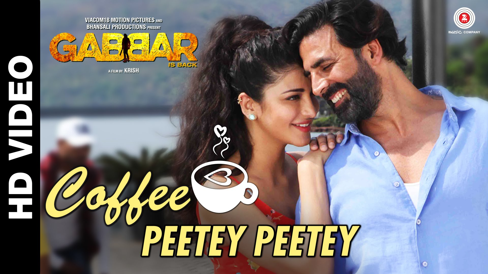Coffee Peetey Peetey Video Song - Gabbar Is Back | Official Video Song