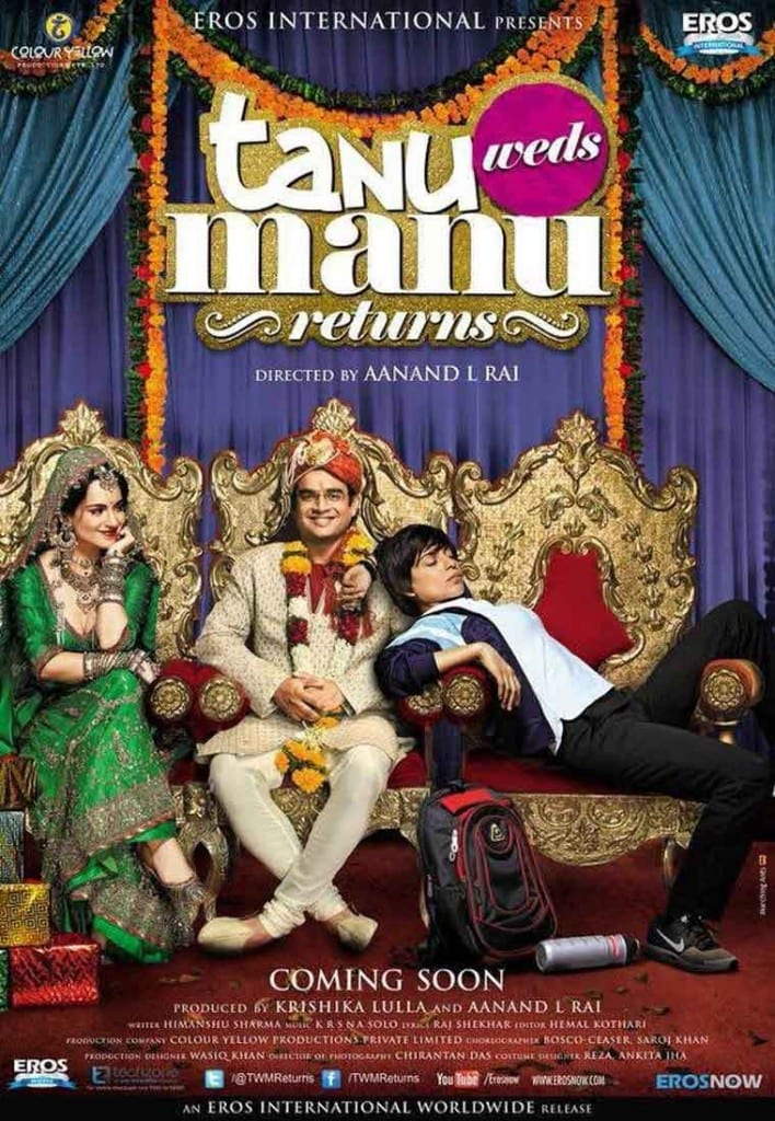Tanu Weds Manu Returns Movie Poster feat.  R. Madhavan and Kangana Ranaut