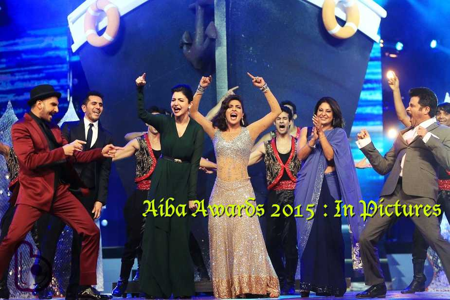 AIBA Awards 2015 Photos: Salman, Priyanka and Varun Sizzles
