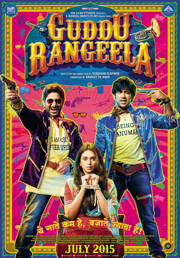Guddu Rangeela First Look Poster feat. Arshad, Aditi and Amit