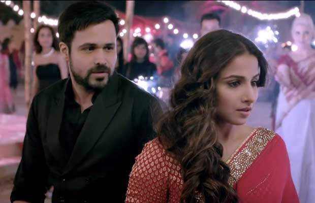 Vidya and Emraan in Hasi Video Song - Hamari Adhuri Kahani