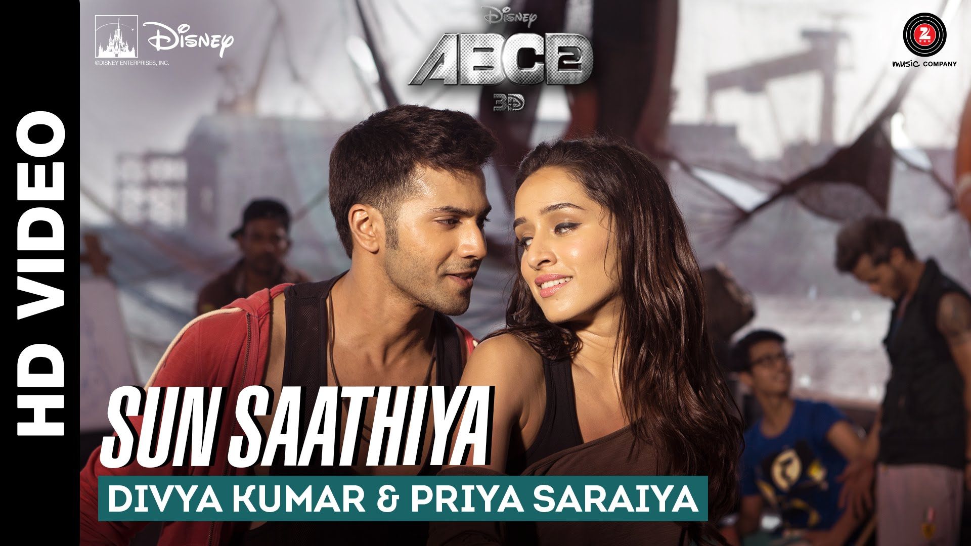 Sun Saathiya Video Song – ABCD 2 | Official Video Song