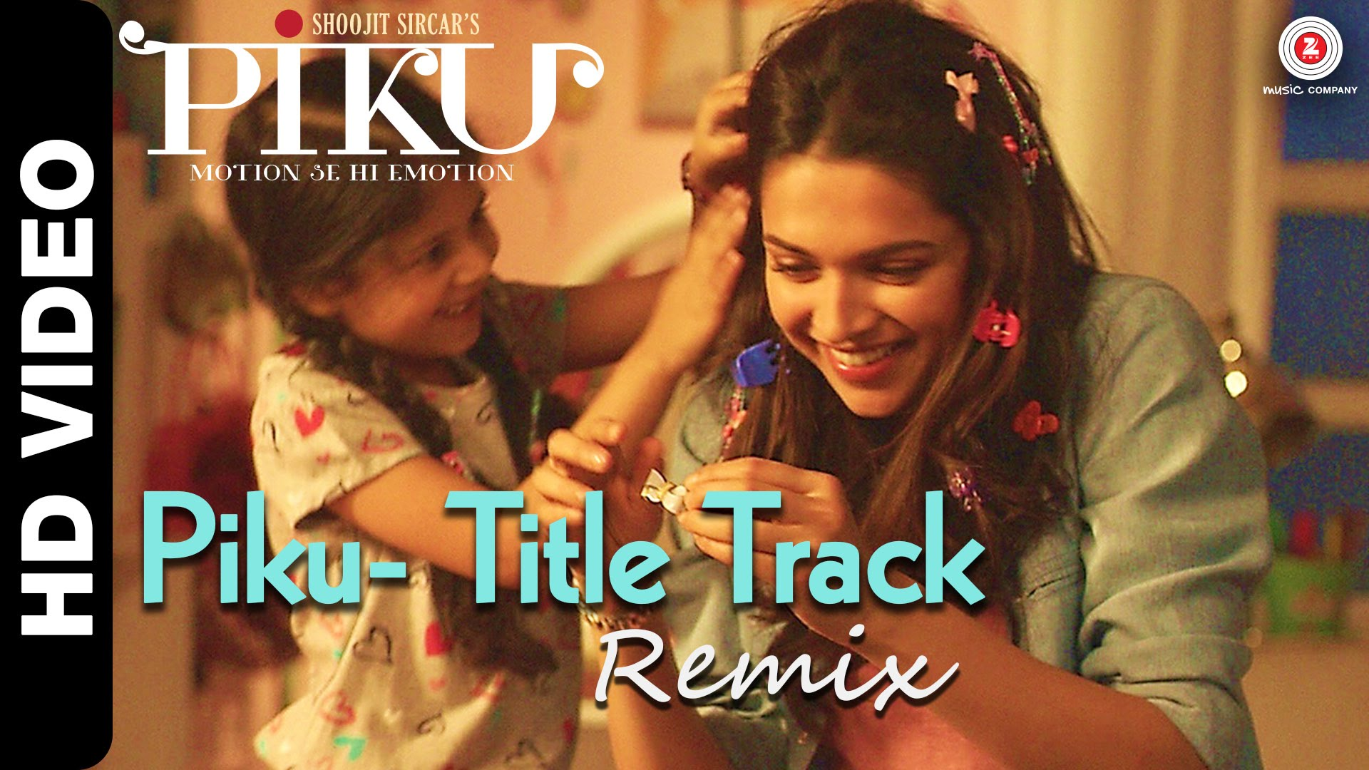 Piku Title Song Remix Video | Official Video Song