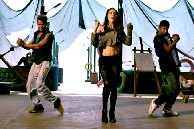 Shraddha Kapoor in Sun Saathiya Video Song - ABCD 2