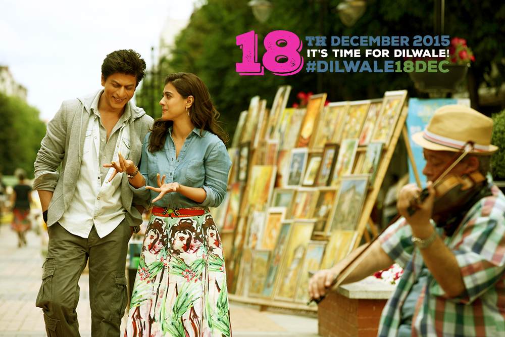 Shahrukh Khan, Kajol's Dilwale Release Date Confirmed