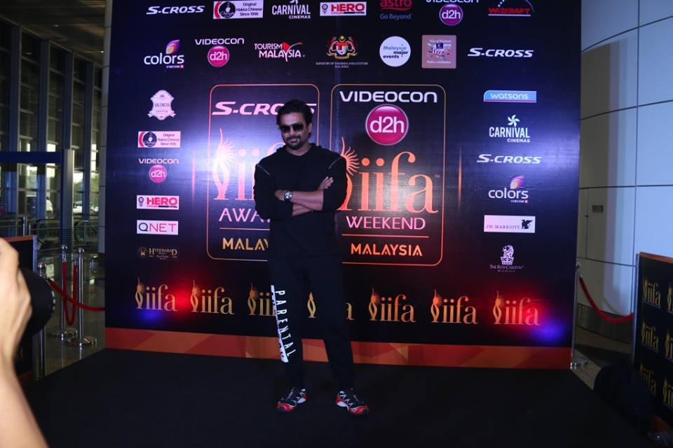 R. Madhavan arrives at IIFA 2015