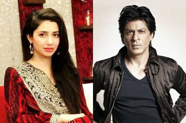 Shahrukh and Mahira Khan In Raees