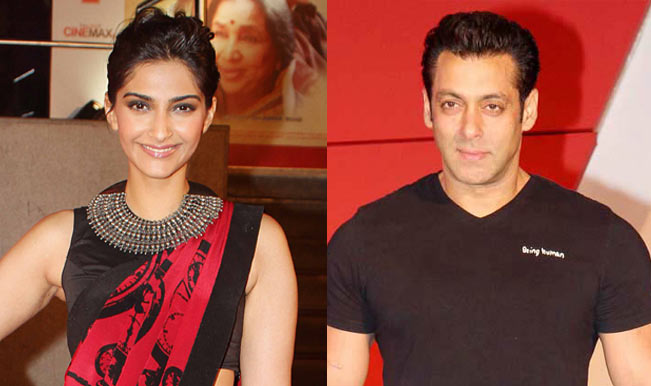 Sonam and Salman - Top 10 Fresh Bollywood Jodi's To Look Out For In 2015, 2016