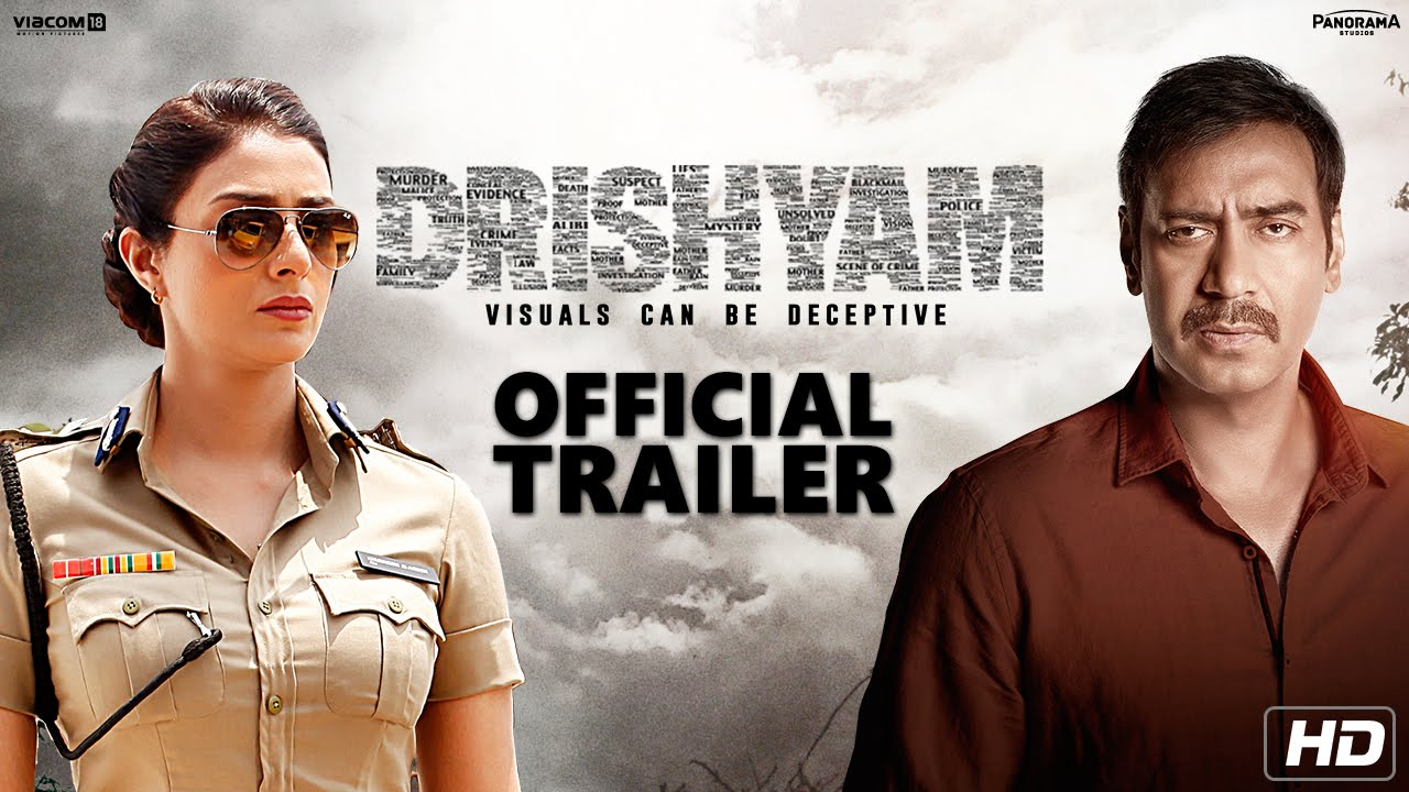 'Drishyam' Trailer: Ajay Devgn Response Smashing on YouTube Crosses 2 Million Views