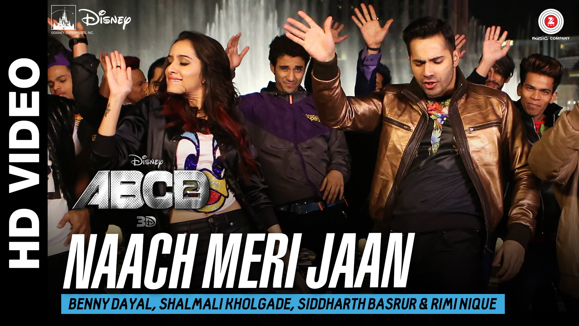 Naach Meri Jaan Video Song – ABCD 2 | Official Video Song