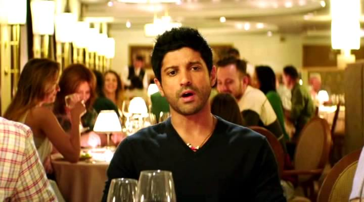 Farhan Akhtar in Phir Bhi Yeh Zindagi Video Song – Dil Dhadakne Do