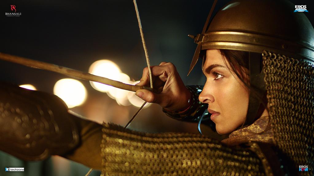 First Look - Deepika in Bajirao Mastani