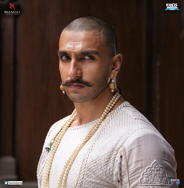 First Look - Ranveer Singh in Bajirao Mastani