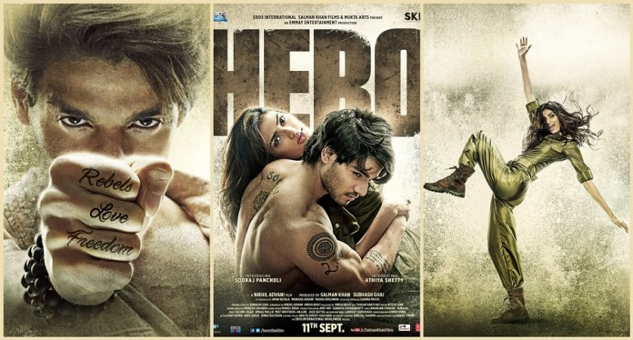 Hero First Look Posters