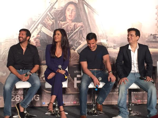 Phantom trailer Launch: phantom team at trailer launch