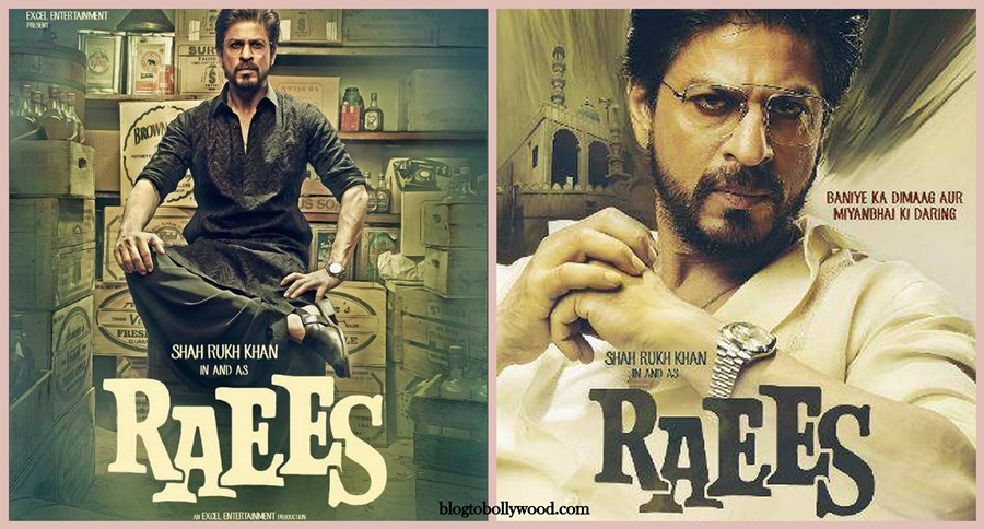 Raees First Look Poster