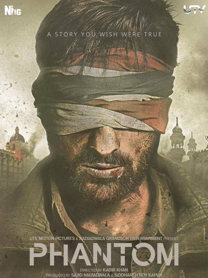 Saif Ali Khan first look in Phantom