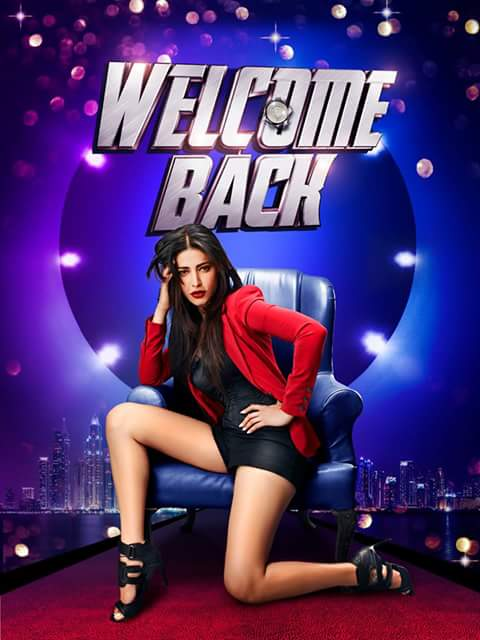 Shruti Haasan in Welcome Back