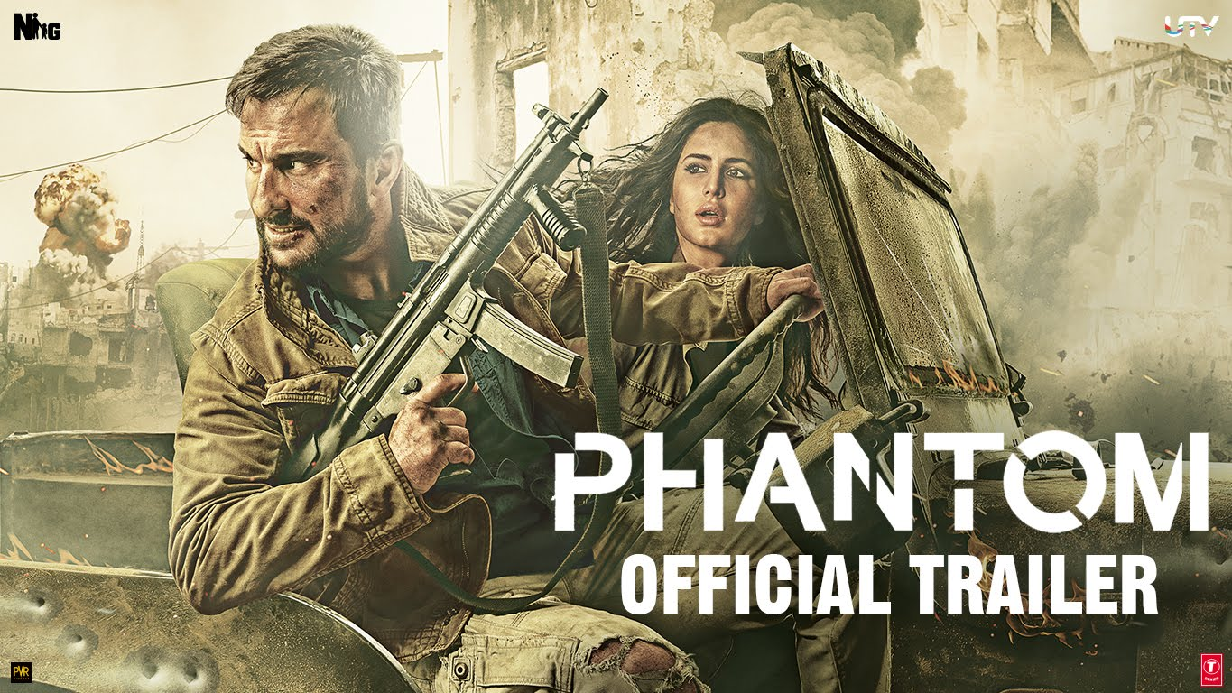 Phantom Official Theatrical Trailer: It's All Guns Blazing
