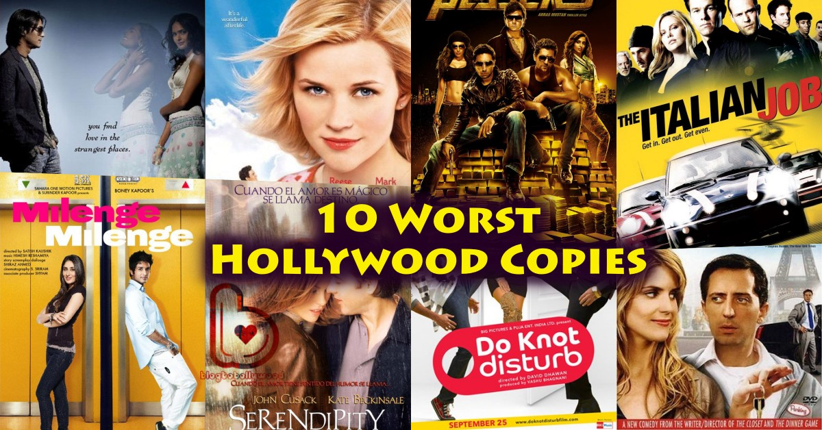 Hollywood Copies: 10 Worst Bollywood Remakes Of Good Hollywood Movies