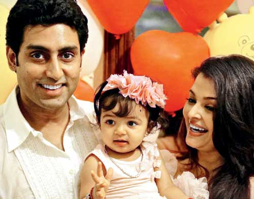 10 Most Adorable Star Kids that you will swoon over!-Abhishek, Aishwarya with Aaradhya