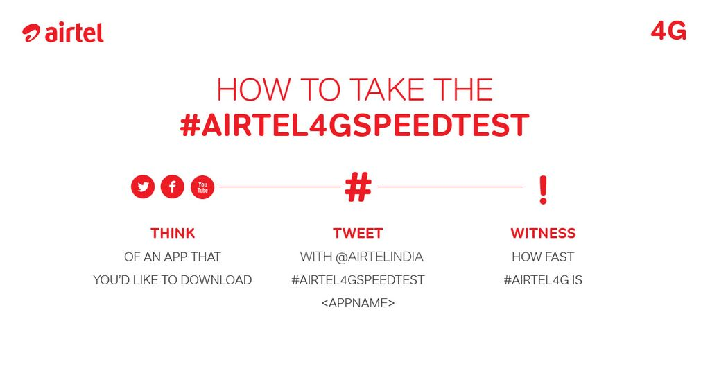 #Airtel4GSpeedTest step by step guide