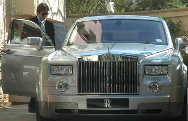 10 Celebrities who own EXORBITANT LUXURY RIDES-Amitabh Bachchan