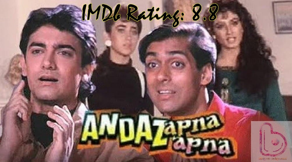 10 Top Imdb-Rated Movies of Aamir Khan-Andaz Apna Apna