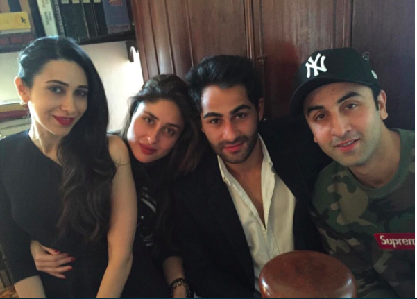 Bollywood Brothers and Sisters - Ranbir With Kareena and Karisma