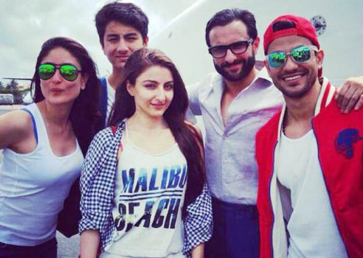 Bollywood Brothers and Sisters - Saif And Soha