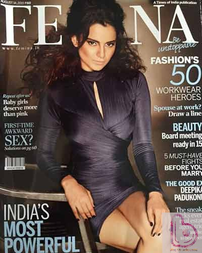 Kangana rocks the Femina Cover!