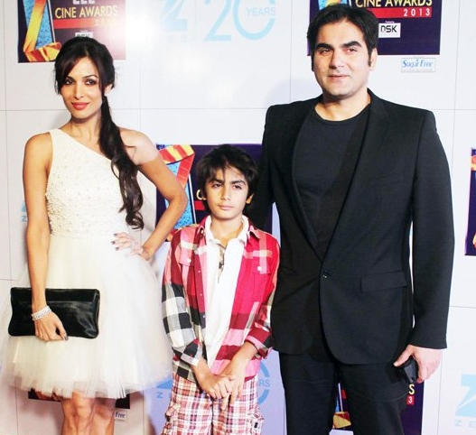 10 Most Adorable Star Kids that you will swoon over!-Mailka, Arbaaz with Arhaan